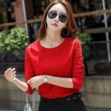 Red Longsleeves Tshirt