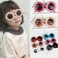 Children Kids Classic Flower Frame Sunglasses Cute Baby Boys Girls UV400 Glasses