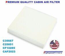 C35667 CF10285 PREMIUM QUALITY AC CABIN AIR FILTER For LEXUS TOYOTA SCION