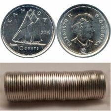 2004 P Canada Mint Roll Dimes Ten Cent Coins.