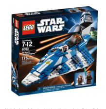 New Lego 8093 Star Wars Plo Koon's Jedi Starfighter