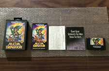 Alisia Dragoon (Sega Genesis) Complete with the case and manual- Tested