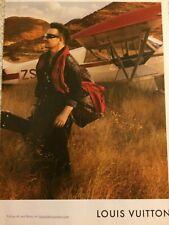 U2, Bono, Louis Vuitton, Full Page Promotional Print Ad