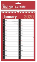 2020 A4 Monthly Planner Calendar Staff Rota Family Organiser 1 Month to View LTV