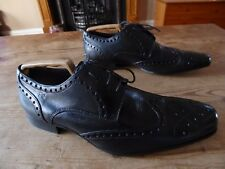 mens FRANK WRIGHT brogues - size uk 8/42 great condition !