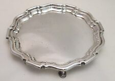 A Good Heavy Silver Plated Tray by Mappin & Webb c1900
