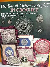 Doilies & Other Delights in Crochet + Doilies, 2 Booklets, Many Patterns/Photos