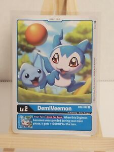 Bandai * Digimon TCG * Special Booster * DemiVeemon * BT2-002 * Uncommon