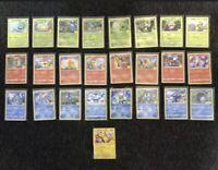 McDonalds 25th Anniversary Pokemon Card Complete NON HOLO Full Set