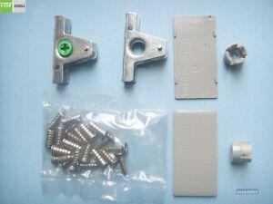 FGV kitchen drawer front fixing bracket assembly (for FGV TEN Drawer systems)