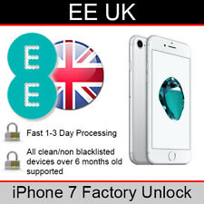EE UK iPhone 7 Factory Unlocking Service (FAST 1-3 WORKING DAY SERVICE)
