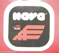 Adesivo sticker vintage NAVA GRAN TURISMO HELMET caschi motociclismo moto casco
