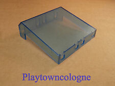 Playmobil x-System Glasscheibe für Flughafen 3186 Tower blau 9 x 9 cm #4188