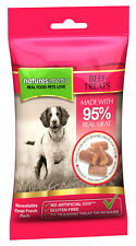 NEW Natures menu dog treats Beef 95% Real Meat