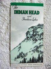 1940's Indian Head, Franconia Notch, Nh, Brochure