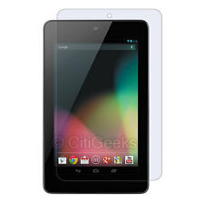 CitiGeeks® Google Nexus 7 Screen Protector Crystal Clear HD Guard ASUS [4-Pack]