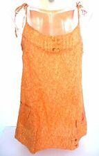 tunique ♥ MISS CAPTAIN ♥ Taille M 38 40 haut blouse sans manches 100% coton