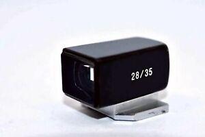 Voigtlander 28/35mm Mini View Finder M for Camera Black Excellent from Japan F/S