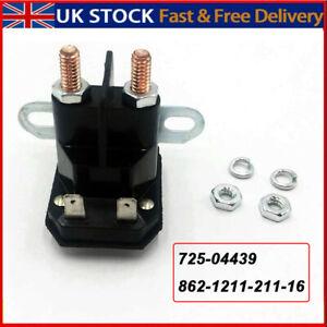 12V OEM For TROMBETTA Solenoid Relay Switch 862-1211-211-16 MTD 725-04439 ATV