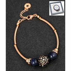 Equilibrium Plated Rose Gold Moonlight Glow Bracelet New and Boxed