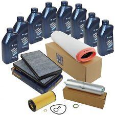 Inspektionspaket Filterset BMW 5er E60 E61 525d 530d 8L ORIGINAL BMW ÖL 5W30