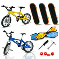 8Pcs/set Finger Bike Bicycle And Skateboard Kids Wheel Children Toys Gifts