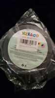 NEX&CO Removable Gel Grip Tape Clear Rug Tape for Area Rugs, Double Sided...