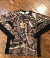 Mossy Oak Break Up Infinity Long Sleeve T-Shirt Youth Size 2xl 18