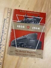 Vintage Pennsylvania PRR Railroad special Centennial issue: 1846-1946 magazine