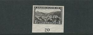LUXEMBOURG 1935 PHILATELIC EXHIBITION issue (Scott B66) Inscription single MH