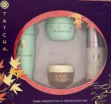 TATCHA The Kissu Lip Mask+Liquid Silk Canvas+Deep Cleanse+Water Cream PERFECTING