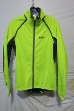 Louis Garneau Spire Convertible Jacket Men's Medium Bright Yellow Retail $179.99