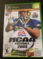 NCAA Football 2005 / Top Spin Combo - Original Xbox Game - Tested