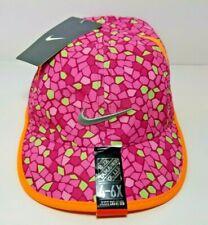 Nike Toddler Feather Light Baseball Hat PinkSicle Sz: 4/6X Dri-Fit 3A2533-AA7