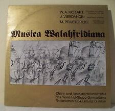 "33 tours MUSICA WALAHFRIDIANA Disque LP 12"" MOZART VIERDANCK PRAETORIUS Rare"