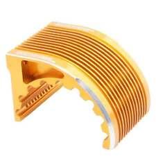 RC Gold Alum Heat Sink For 1/8 Hobbywing Castle leopard Motor 4274 4268 1515