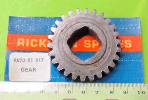 Rickman NOS Zundapp 125 MX Transmission Gear p/n R070 05 017 & R07005017