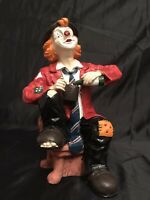 Grosser Deko-Clown - Sammlerstück - im Bestzustand - NEUWERTIG !
