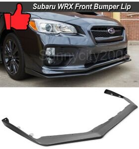 For 15-19 Subaru Impreza WRX STi V-LIMITED OE STYLE Front Bumper Lower Lip Kit