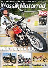 KM1105 + MOTO MORINI 500 + PEUGEOT-Rennmaschinen + MO Klassik Motorrad 5 2011
