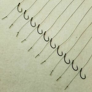 10 x KD RIGS SIZES 4-12 FLYNSCOTSMAN TACKLE FISHING COARSE VARIATIONS CARP