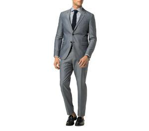 Tommy Hilfiger Mens Smn-Hmt Suit Grey EUR 50