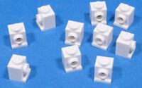 LEGO - 10 x Konverter - Stein 1x1 weiss / White Brick Headlight / 4070 NEUWARE