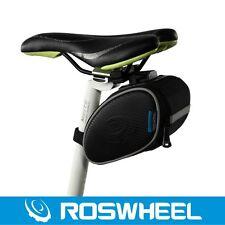 ROSWHEEL Bike Cycling Saddle Seatpost Bag Seat Pouch Bicycle Tail Rear Storage