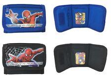 Marvel Spider-Man Set of 2 Children boy Tri Fold Wallet