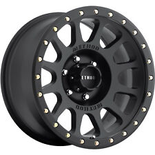 Method NV 17x8.5 6x139.7 (6x5.5) +0mm Black Wheels Rims MR30578560500