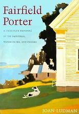 Fairfield Porter: Catalogue Raisonne of the Oil Paintings, Watercolors-ExLibrary