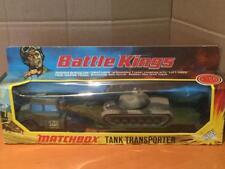 Matchbox Battle Kings K106 Tank Transporter with K102 M48-A2 US Army Tank VNMIB