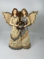 Elements 82041 Friends Forever Figurine By Barbara McDonald Angels