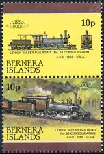 1866 Consolidation No.63 (Lehigh Valley Railroad) Train Stamps (Bernera)